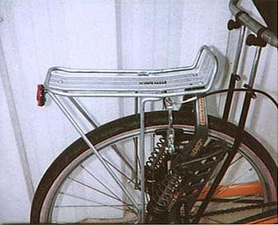 Shockster with rear rack