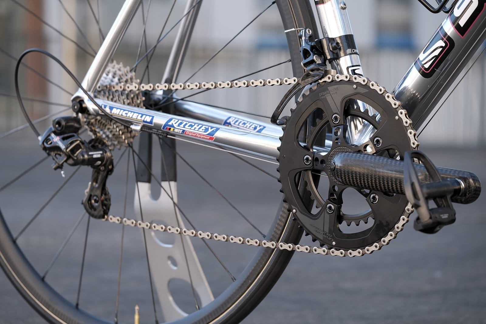 Scott USA Team Jean Delatour Re-Issue with Lightning Carbon Cranks